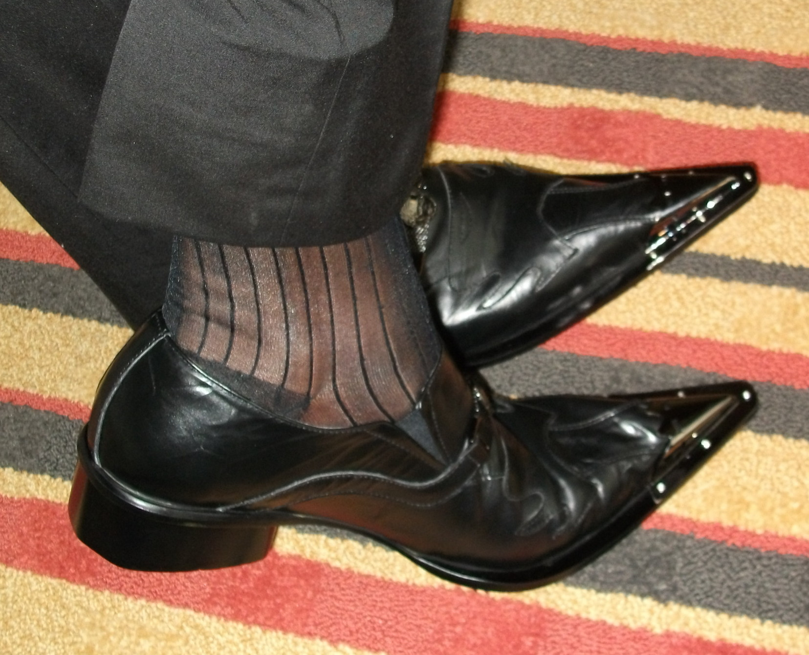Clevis Shoes From The Sock Man Socks Current Stock