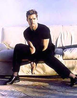 Ricky Martin Shoe Size