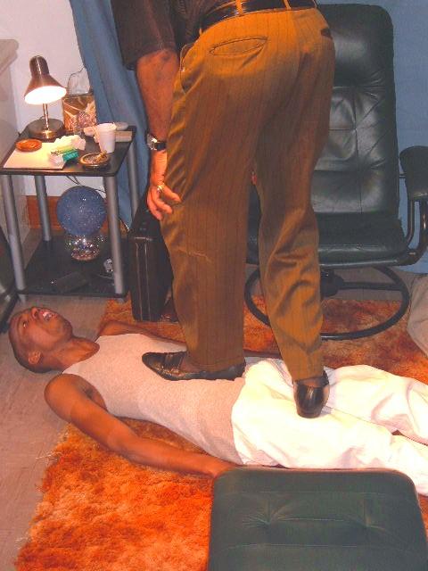 Men In Sheer Hosiery That Take Charge